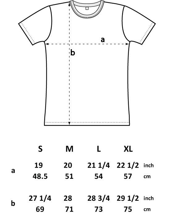 Standard T Shirt Dimension And Placement Chart: T H E * E P I C U R E A N